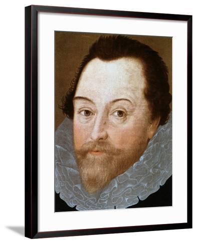 Sir Francis Drake, English Sailor, 1591-Marcus Gheeraerts The Younger-Framed Art Print