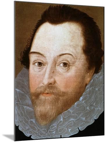 Sir Francis Drake, English Sailor, 1591-Marcus Gheeraerts The Younger-Mounted Giclee Print