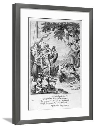 Jason and the Argonauts, 1655-Michel de Marolles-Framed Art Print