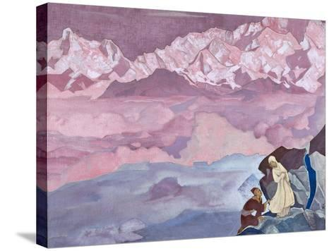 She Who Leads, 1924-Nicholas Roerich-Stretched Canvas Print
