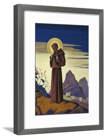 Saint Francis, 1932-Nicholas Roerich-Framed Art Print