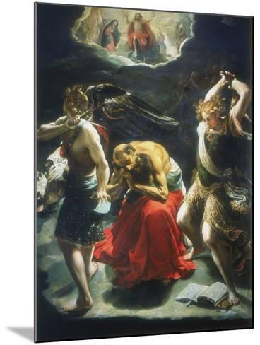 St Jerome's Dream, C1600-Orazio Borgianni-Mounted Giclee Print