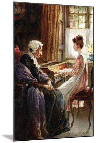 Their Evening Hymn, 1892-Margaret Isabel Dicksee-Mounted Giclee Print