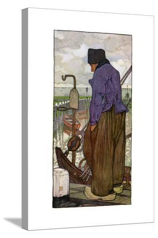 A Dutch Boatman, 1898-Nico Jungmann-Stretched Canvas Print