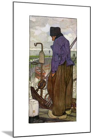 A Dutch Boatman, 1898-Nico Jungmann-Mounted Giclee Print