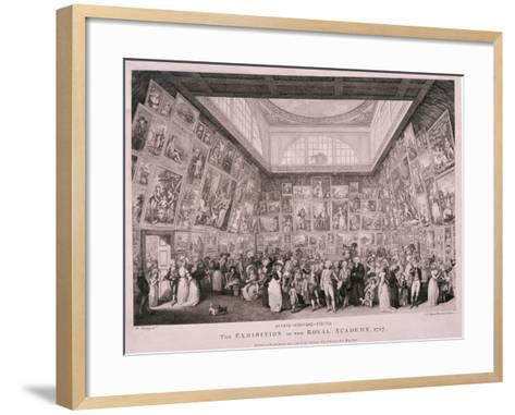 Somerset House, London, 1787-Pietro Antonio Martini-Framed Art Print