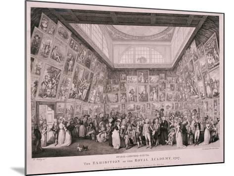 Somerset House, London, 1787-Pietro Antonio Martini-Mounted Giclee Print