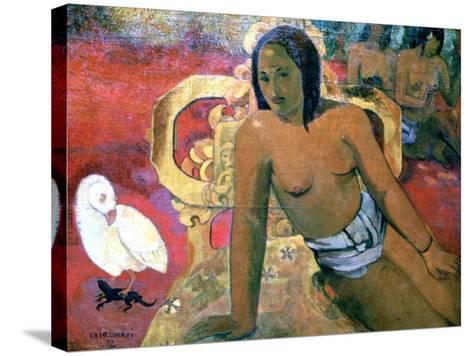 Vairumati, 1896-Paul Gauguin-Stretched Canvas Print