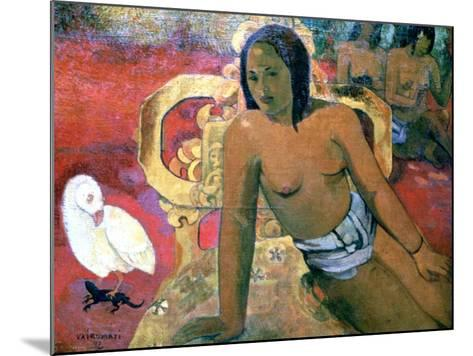 Vairumati, 1896-Paul Gauguin-Mounted Giclee Print