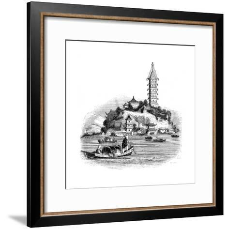 Golden Island, China, 1847- Palmer-Framed Art Print