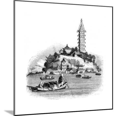 Golden Island, China, 1847- Palmer-Mounted Giclee Print