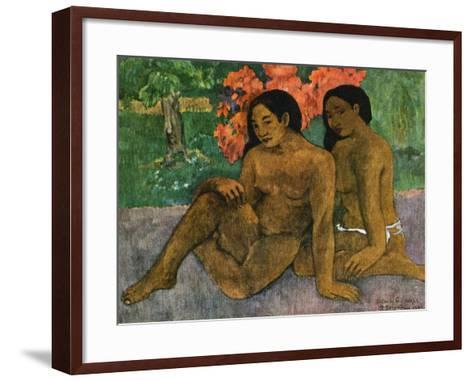 And the Gold of their Bodies, 1901-Paul Gauguin-Framed Art Print