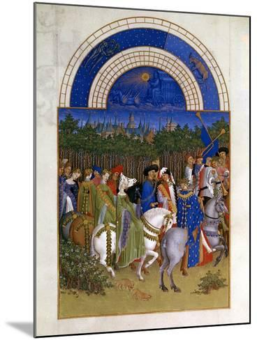 May, 1412-1416-Paul Limbourg-Mounted Giclee Print