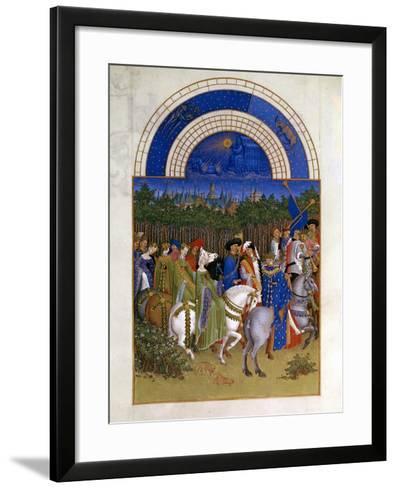 May, 1412-1416-Paul Limbourg-Framed Art Print