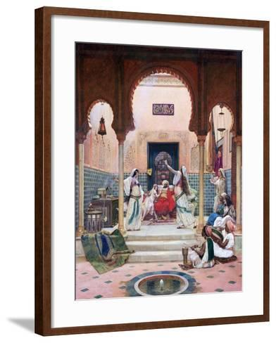 Dance of Almee, C1873-1937-Paul Louis Bouchard-Framed Art Print
