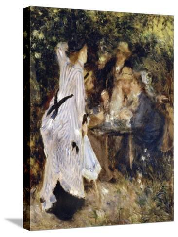 In the Garden (Au Jardin Du Moulin De La Galett), 1876-Pierre-Auguste Renoir-Stretched Canvas Print