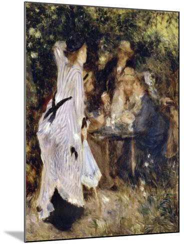 In the Garden (Au Jardin Du Moulin De La Galett), 1876-Pierre-Auguste Renoir-Mounted Giclee Print