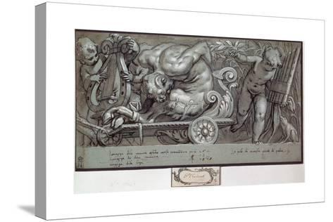 The Punishment of Marsyas, C1573-Paolo Farinati-Stretched Canvas Print