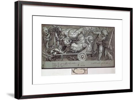 The Punishment of Marsyas, C1573-Paolo Farinati-Framed Art Print