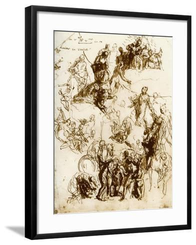 Sketch for the Martyrdom of St George, 1913-Paolo Veronese-Framed Art Print