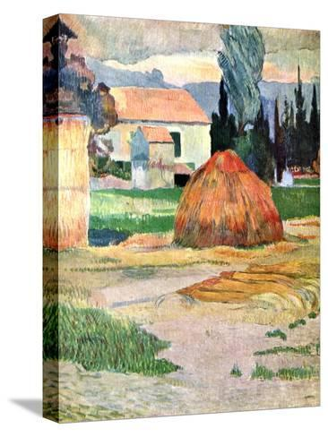 Landscape in Brittany, 1888-Paul Gauguin-Stretched Canvas Print
