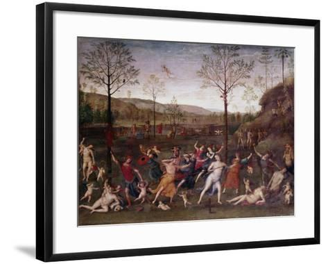 The Battle of Love and Chastity, 1504-1523-Perugino-Framed Art Print