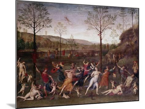 The Battle of Love and Chastity, 1504-1523-Perugino-Mounted Giclee Print