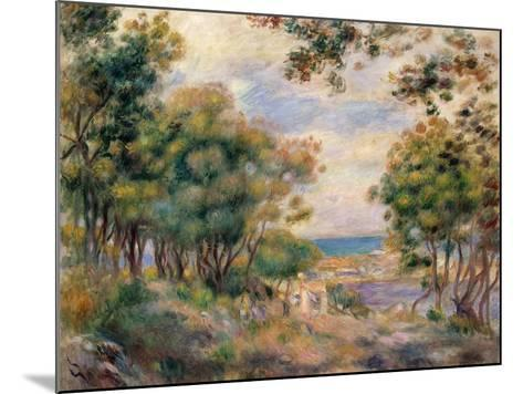 Landscape at Beaulieu, 1899-Pierre-Auguste Renoir-Mounted Giclee Print
