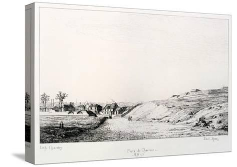 Poste De Charonne, Siege of Paris, 1870-1871-Paul Roux-Stretched Canvas Print