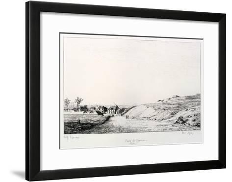Poste De Charonne, Siege of Paris, 1870-1871-Paul Roux-Framed Art Print