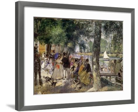 Bathing on the Seine (La Grenouill?r), 1869-Pierre-Auguste Renoir-Framed Art Print