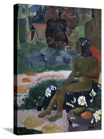 Vairaumati Tei Oa (Her Name Is Vairaumat), 1892-Paul Gauguin-Stretched Canvas Print
