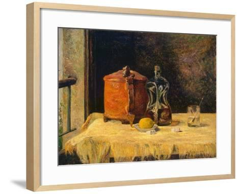 At the Window, 1882-Paul Gauguin-Framed Art Print