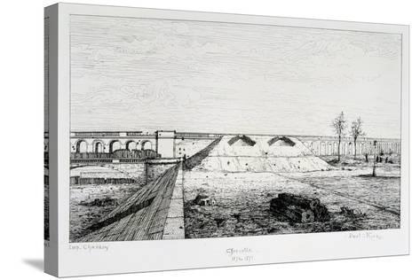 Grenelle, Siege of Paris, 1870-1871-Paul Roux-Stretched Canvas Print