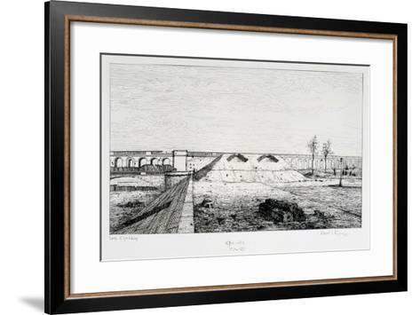 Grenelle, Siege of Paris, 1870-1871-Paul Roux-Framed Art Print