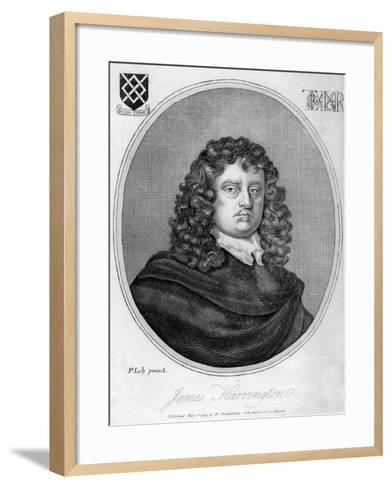 James Harrington, English Political Theorist, 1799-Peter Lely-Framed Art Print