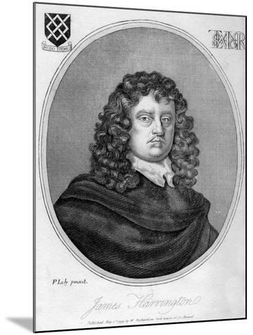 James Harrington, English Political Theorist, 1799-Peter Lely-Mounted Giclee Print
