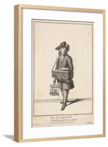 Buy a Fine Singing Bird, Cries of London-Pierce Tempest-Framed Art Print