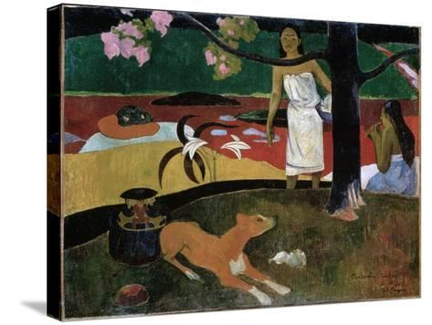 Pastorales Tahitiennes, 1892-Paul Gauguin-Stretched Canvas Print
