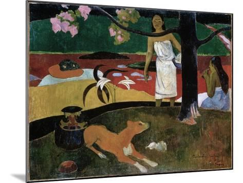 Pastorales Tahitiennes, 1892-Paul Gauguin-Mounted Giclee Print