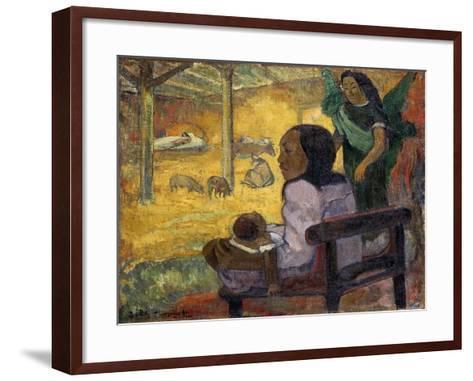 Be Be (Christma), 1896-Paul Gauguin-Framed Art Print
