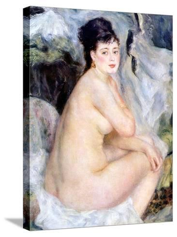 Nude, 1876-Pierre-Auguste Renoir-Stretched Canvas Print