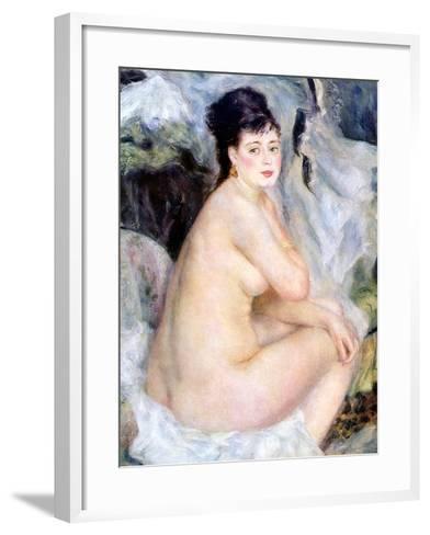 Nude, 1876-Pierre-Auguste Renoir-Framed Art Print