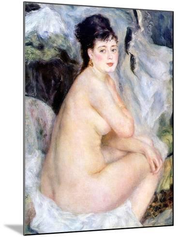 Nude, 1876-Pierre-Auguste Renoir-Mounted Giclee Print
