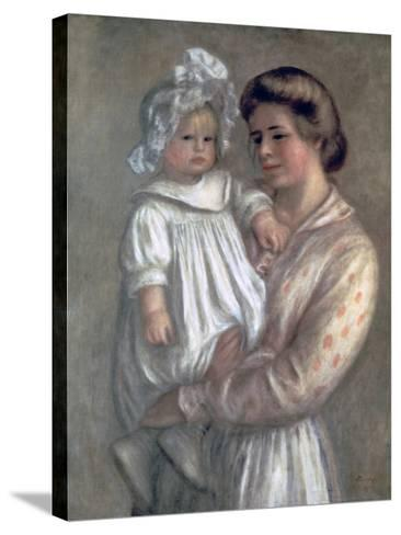 Claude and Renee, 1904-Pierre-Auguste Renoir-Stretched Canvas Print