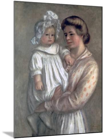 Claude and Renee, 1904-Pierre-Auguste Renoir-Mounted Giclee Print
