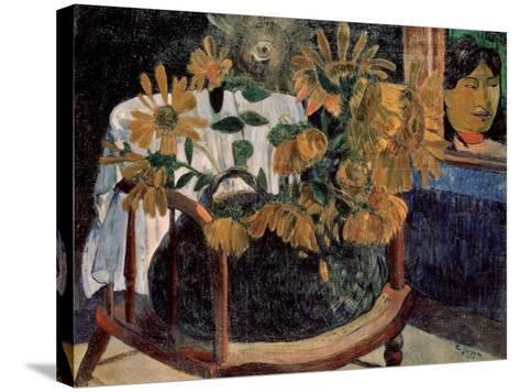 The Sunflowers, 1901-Paul Gauguin-Stretched Canvas Print