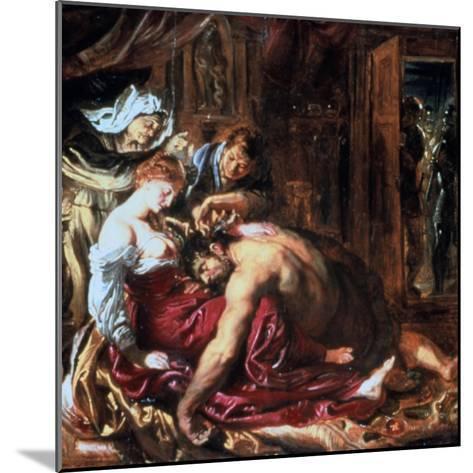 Samson and Delilah, C1609-1610-Peter Paul Rubens-Mounted Giclee Print