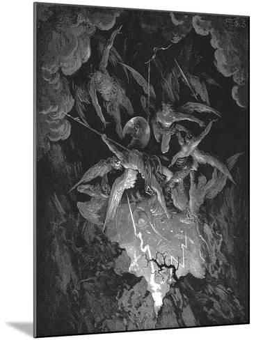 Illustration from John Milton's Paradise Lost, 1866-Gustave Dor?-Mounted Giclee Print