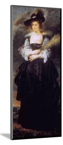 Portrait of Helena Fourment, C1630-32-Peter Paul Rubens-Mounted Giclee Print